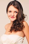 Ukrainian girl Lyubov,22 years old with blue eyes and light brown hair.