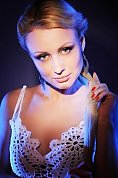 Ukrainian girl Anna,26 years old with green eyes and blonde hair.