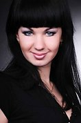girl Evgenia, years old with  eyes and  hair.