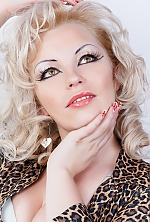 Ukrainian girl Olesya,27 years old with hazel eyes and blonde hair.