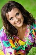 Ukrainian girl Elena,32 years old with blue eyes and light brown hair.