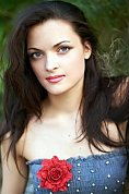 Ukrainian girl Maria,31 years old with brown eyes and dark brown hair.