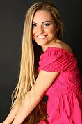 Ukrainian girl Lesya,26 years old with green eyes and blonde hair.