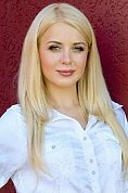 Ukrainian girl Kristina,23 years old with green eyes and blonde hair.