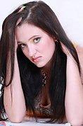 Ukrainian girl Olga,31 years old with grey eyes and black hair.