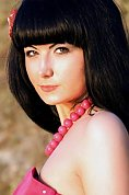 Ukrainian girl Tatiana ,27 years old with hazel eyes and black hair.