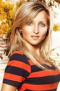 Ukrainian girl Tatiana ,29 years old with blue eyes and blonde hair.
