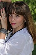 Ukrainian girl Anastasia,25 years old with hazel eyes and light brown hair.