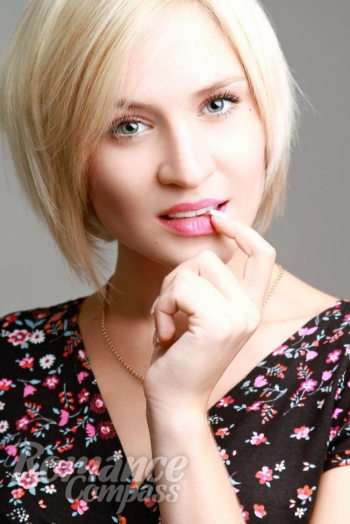 Ukrainian girl Veronica,25 years old with green eyes and blonde hair.