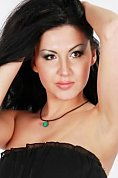 Ukrainian girl Marina,32 years old with brown eyes and black hair.
