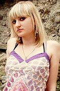 Ukrainian girl Yulia,23 years old with green eyes and blonde hair.