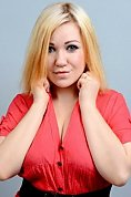 Ukrainian girl Nastia,23 years old with blue eyes and blonde hair.