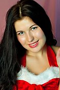 Ukrainian girl Valentina,25 years old with grey eyes and dark brown hair.