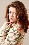 Ukrainian girl Tatiana,24 years old with blue eyes and light brown hair.