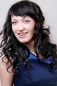 Ukrainian girl Ekaterina,26 years old with black eyes and light brown hair.