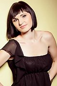 Ukrainian girl Evgeniya,23 years old with hazel eyes and dark brown hair.