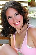 Ukrainian girl Svetlana,44 years old with brown eyes and dark brown hair.