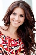 Ukrainian girl Julia,27 years old with green eyes and dark brown hair.