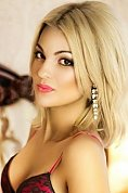 Ukrainian girl Polina,20 years old with brown eyes and blonde hair.