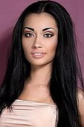 Ukrainian girl Maria,23 years old with brown eyes and black hair.