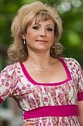 Ukrainian girl Alla,53 years old with hazel eyes and blonde hair.