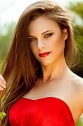 Ukrainian girl Anna,27 years old with grey eyes and light brown hair.