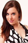 Ukrainian girl Svetlana,33 years old with grey eyes and dark brown hair.