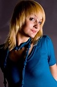 Ukrainian girl Alina,26 years old with hazel eyes and blonde hair.