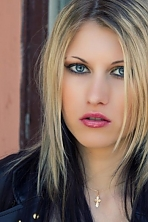 Belarusian girl Katerina,23 years old with hazel eyes and blonde hair.