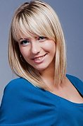 Ukrainian girl Anastasia,26 years old with blue eyes and blonde hair.