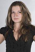Ukrainian girl Tatyana,23 years old with green eyes and dark brown hair.