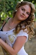 Ukrainian girl Julia,23 years old with blue eyes and blonde hair.
