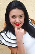 Ukrainian girl Lyudmila ,20 years old with brown eyes and dark brown hair.