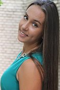 Ukrainian girl Yulenka,23 years old with brown eyes and dark brown hair.