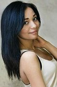 Ukrainian girl Josephin,22 years old with brown eyes and black hair.