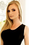 Ukrainian girl Svetlana,23 years old with brown eyes and blonde hair.
