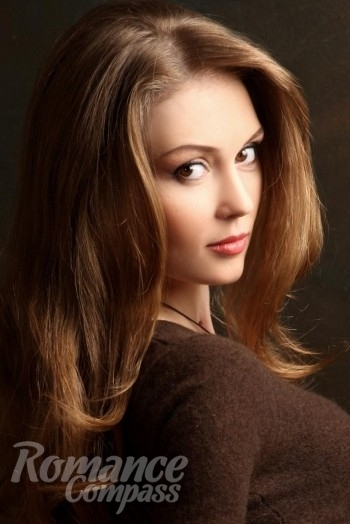 Ukrainian girl Yuliya,34 years old with brown eyes and light brown hair.