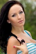 Ukrainian girl Inna,32 years old with grey eyes and dark brown hair.