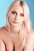 Ukrainian girl Anna ,19 years old with brown eyes and blonde hair.