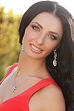 Ukrainian girl Svetlana,30 years old with green eyes and black hair.