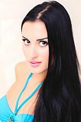 Ukrainian girl Irina,24 years old with brown eyes and black hair.