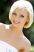 Ukrainian girl Irina,24 years old with blue eyes and blonde hair.