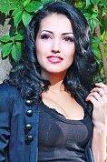 Ukrainian girl Anastasia,21 years old with brown eyes and black hair.