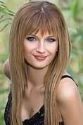 Ukrainian girl Maria,25 years old with blue eyes and light brown hair.