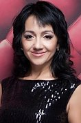 Ukrainian girl Tatiana,46 years old with brown eyes and black hair.