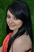 Ukrainian girl Viktoriya,33 years old with brown eyes and black hair.