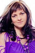 Ukrainian girl Viktoriya,41 years old with brown eyes and dark brown hair.