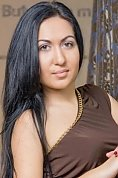 Ukrainian girl Irina,21 years old with brown eyes and black hair.
