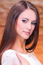 Ukrainian girl Elizaveta,23 years old with brown eyes and dark brown hair.