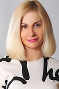 Ukrainian girl Elena,33 years old with blue eyes and blonde hair.